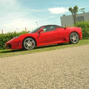 Im Ferrari fahren