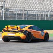 McLaren Rennstrecke fahren