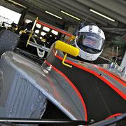 Formel 1 Rennwagen fahren