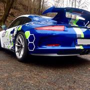 Porsche Rennwagen selber fahren Hockenheimring 991