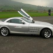 Mercedes SLR Sportwagen mieten