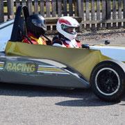 Formel Renault Doppelsitzer Renntaxi