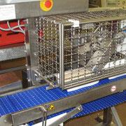 vollautomatische Leberkäsfüllmaschine