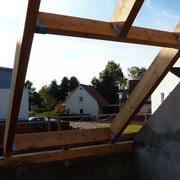 Neuer Einbau Dachfenster