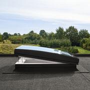 Flachdachfenster Konvex