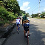 バイク練 彼はこのまま青森へ向かいました