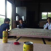 西蔵王TT 温泉で休憩