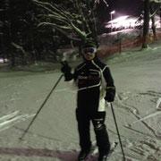 蔵王スキー場 黒が似合わない