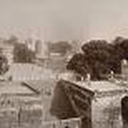 Old photo of Sai Ghat and entrance to Jharla