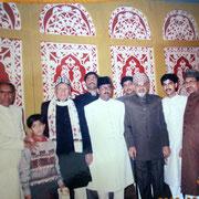 Syed Yunusmia Maharaj,Salman Chishty,Syed Idrismia Maharaj,Wali MaharajJr.Shariq Mharaj,Zahurmia Maharaj Jr.,Syed Ilyasmia Maharaj,Irshad Ali Chishty,Syed Sulemanmia Maharaj