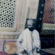 |Syed Zahurmia Maharaj at his Gaddi Dargah Sharif Ajmer