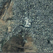 Google snapshot of Dargah Khawaja Moinudin Chishty and the area around