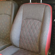 MB Vito Fahrersitz - Nacher