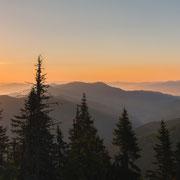 Sonnenaufgang am Thalerkogel
