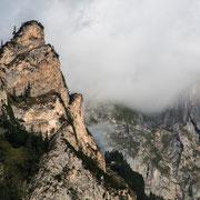 Berge rund um die Moosalm und den Krumpengraben