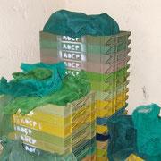 Filets de protection et bacs pour la récolte des dattes