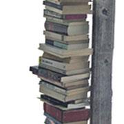 """""""Libreria di Massimo"""" vecchia panca della Val d'Ambiez (h cm197)"""