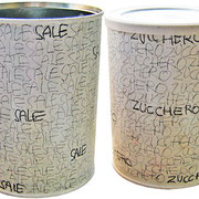 """""""Sale e Zucchero"""" segni di matita su acrilico cm10x13"""