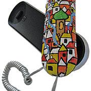 """""""case su telefono"""" acrilici su plastica cm--"""