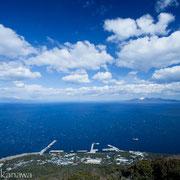 宮塚山頂上からの眺め