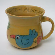 Keramiktasse Artikel - Nr. 5024 / 14,- € / 9 X 9 cm