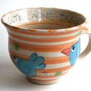 Gute-Laune -Tasse mit Vogel Artikel - Nr. 1025 /20,- € / 400  ml
