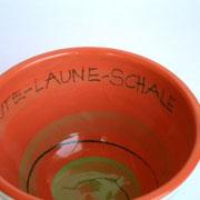"""Keramikschüssel """"Herzchen""""  Innenansicht 18 €/ Artikel-Nr. 7030"""
