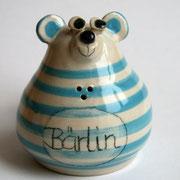 """Salzstreuer """"Bärlin"""" speziell für Berlin-Fans/ Farbe: türkis/ Bestell-Nr. 2403/Preis 14,- €"""