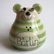 Berlin-Salzstreuer / grün / Artikel - Nr. 2702 / 12 €
