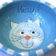 Katzenfutternapf türkis 16,- €  Bestell - Nr. 3002