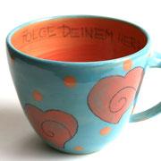 Keramiktasse Artikel - Nr. 1026/ 19 €/ 400 ml