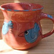 Keramiktasse Artikel - Nr. 5023 /14,- € / 9 X 9 cm