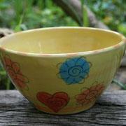 """Müslischale """"Blume""""  18 €/ Artikel - Nr. 7007"""