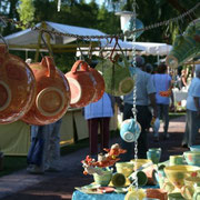 ...mal ein schönes Foto von der Marktatmosphäre machen...