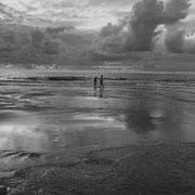 Spaziergang am Meer, Kampen 1954