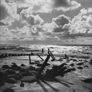 Abendlicht II, Sylt 1950