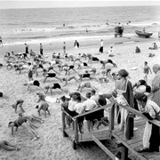 Strandgymnastik, Westerland 1935