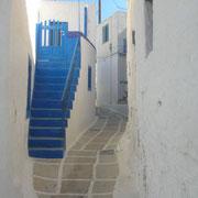 En Grèce, le bleu porte bonheur