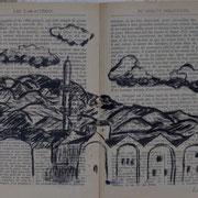 """les docks de Rethymnon, croquis sur """"classique illustré Hachette"""""""