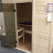 Erstellen einer Sauna