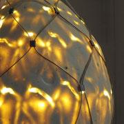 Lichtobjekte aus Porzellan