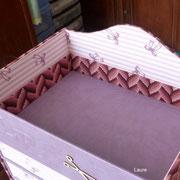 haut de la boite de laure