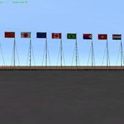 UCGO Cargo Flags Pack1