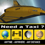Space TAXI Skin for DGIV