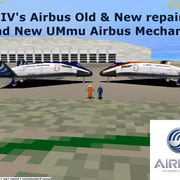 New UMmu character & DGIV Airbus Old & New livery