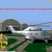 Aerospatiale Puma SA 330 at Orange Caritat AB 115