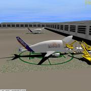 Airbus Beluga loading - Screen Capture