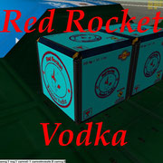 UCGO Cargo Red Rocket Vodka