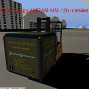 UCGO Cargo AMRAM AIM-120 missiles