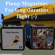 UCGO Cargo Pinup Magazines